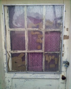 Lead-Based Paint on a Door